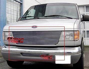 Amazon Com Aps Compatible With 1992 2006 Econoline Van Billet Grille Combo F87911a Automotive