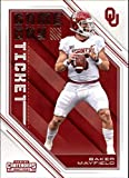 #1: 2018 Panini Contenders Draft Picks Game Day Tickets #24 Baker Mayfield Oklahoma Sooners Football Card