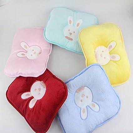 Domire baby pillow velvet new born pillow head form correct