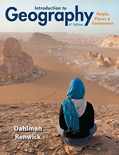 Introduction to Geography: People, Places & Environment (6th Edition) cover