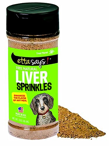 Etta Says Liver Sprinkles 100-Percent All Natural Liver From American Farms, 3-Ounce, 85-Gram