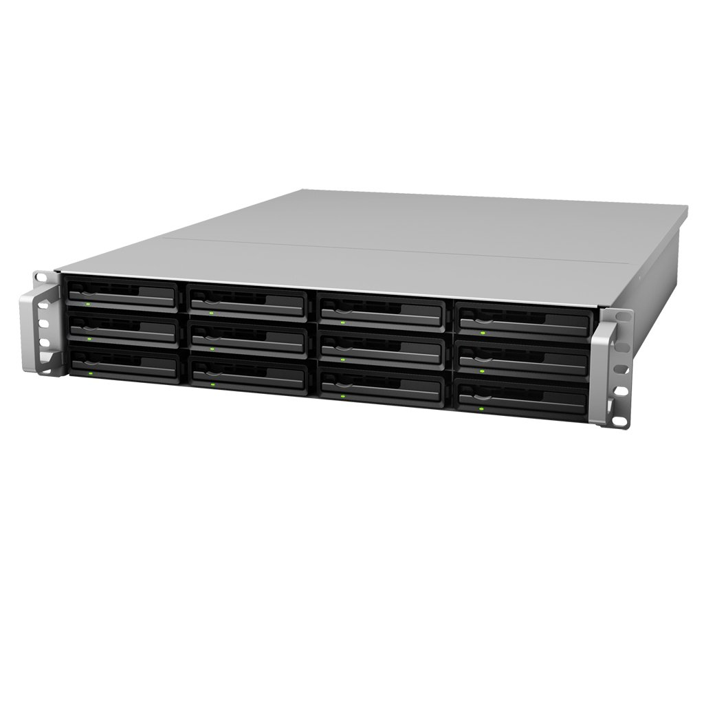 Synology RackStation 12-Bay Plug-n-Use 2U Rackmount Expansion Unit (RX1213sas)