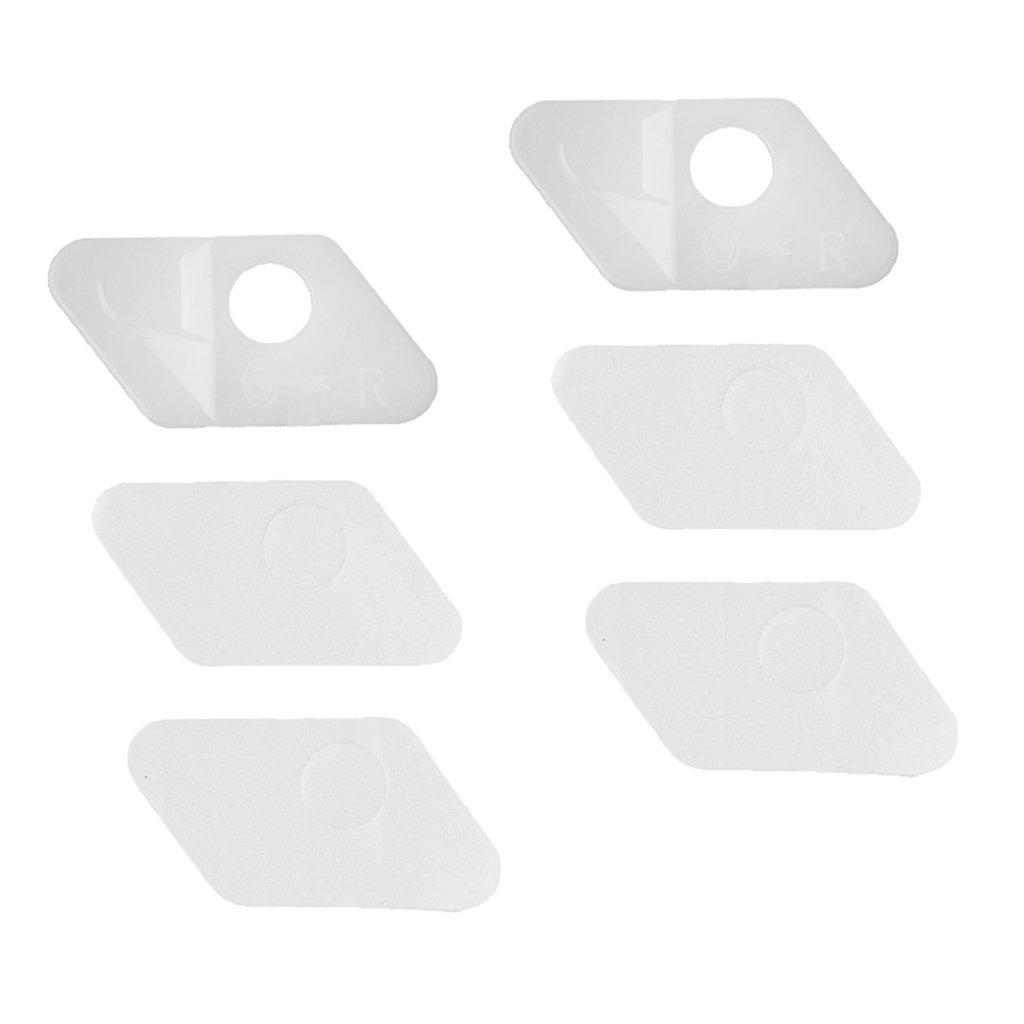 MagiDeal 2 Pezzi Freccia Riposo A Destra In Plastica Tiro Con Arco Accessori Per Caccia - Bianco