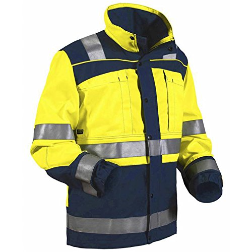 Blakläder 402913703388x XXL High Schrauben Jacke Klasse 1Größe XXXL gelb/marine blau