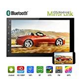 """Car Stereo-Android 6.0 Double Din 7"""" Touch Screen Car Audio Support Mirron Link"""