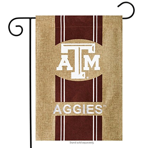 Texas A&m Aggies Yard - Texas A&M Aggies Official NCAA 12.5 inch x 18 inch Team Burlap Garden Flag