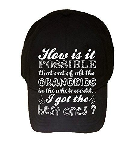 Best kids 100% Adjustable Hat - Gift For Grandparents! Parents, Birthday Present! -