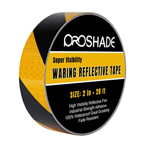 Reflective Hazard Warning Safety Stripe Tape 2