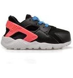 Nike Huarache Run (PS), Zapatos de Primeros Pasos Unisex Bebé, Blanco/Negro (White/Black-White), 29 1/2 EU