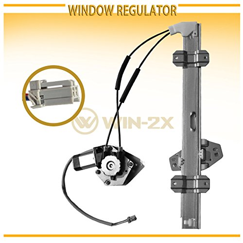 Wagon Honda Fit (WIN-2X New 1pc Front Passenger (Right) Side Power Window Regulator & Motor Assembly Fit 94-97 Honda Accord 4-Door Sedan & 5-Door Wagon)