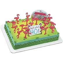 Flamingos DecoSet Cake Decoration