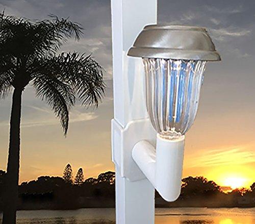 Solar Lanai Lights 1 Light Brightness 5 LUMEN, for Patio's, Screen Enclosures and Pool Cage Lighting