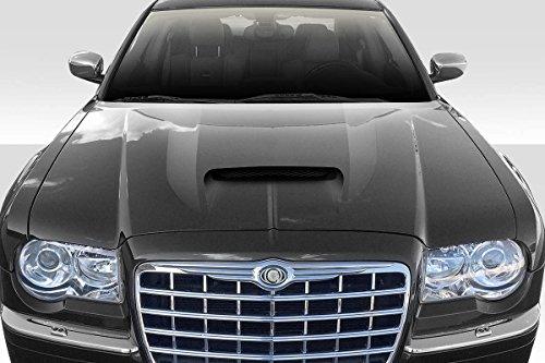 Duraflex Replacement for 2005-2010 Chrysler 300 300C SRT Look Hood - 1 Piece