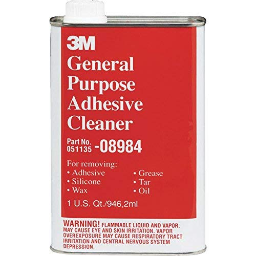3M General Purpose Adhesive Cleaner, Quart, 08984 (Adhesive Remover Automotive)