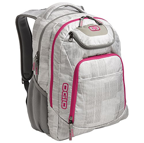 """Ogio Business Excelsior Backpack - 4 Colours / 15.5"""" x 11.25"""" x - Blizzard/Pink"""