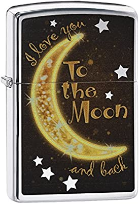 Zippo Moon and Star Lighters