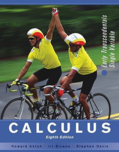 By Howard Anton - Calculus: Early Transcendentals Single Variable (8th Edition) (2005-02-05) [Hardcover] ebook