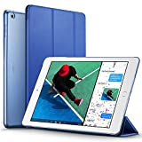 #6: New iPad 2017 iPad 9.7 inch Case, ESR Ultra Slim Lightweight Smart Case Trifold Stand with Auto Sleep/Wake Function, Microfiber Lining, Hard Back Cover for Apple New iPad 9.7-inch,Navy Blue