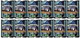 Blue Buffalo Wilderness Rocky Mountain Grain Free Adult Trout Food, 12 by 12.5 oz.