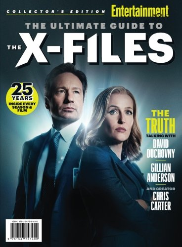 ENTERTAINMENT WEEKLY The Ultimate Guide to The X-Files: 25 Years - Inside Every Season & Film (Best Monster Of The Week X Files)