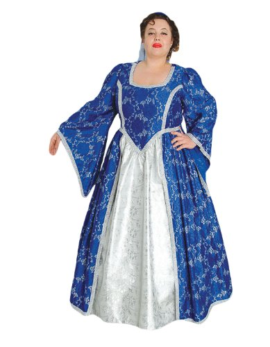 Amazon.com: Deluxe Plus Size Medieval Queen Theatrical Quality ...