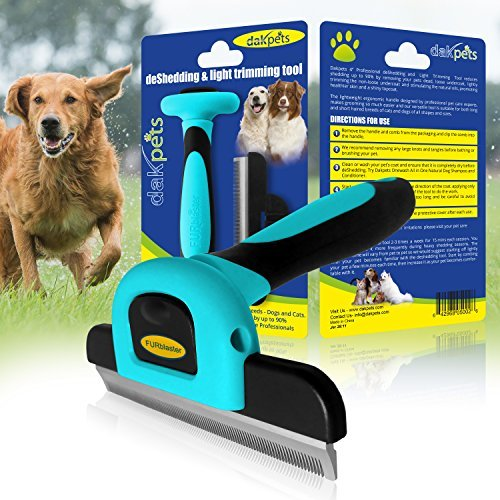 Dakpets Deshedding Brush Dog Hair Amp Cat Hair Shedding Tool
