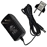 HQRP AC Adapter for PROFORM XP Stride Climber 600 Elliptical 237450 237451 Power Supply Cord [UL Listed] + Euro Plug Adapter