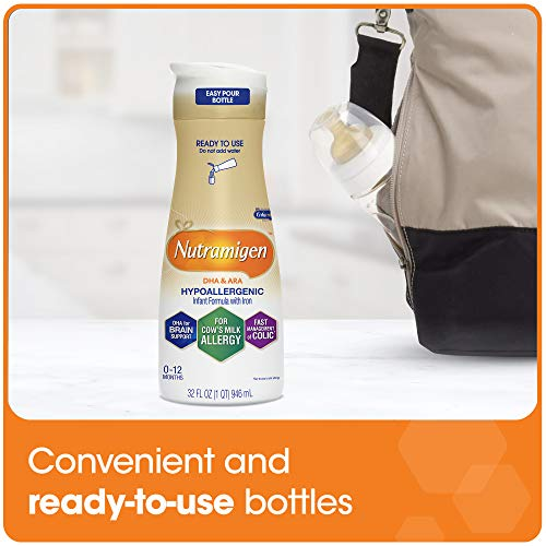 Enfamil Nutramigen Infant Formula - Hypoallergenic & Lactose-Free for Fast Colic Management - Ready to Use Liquid, 32 fl oz (6 count) by Enfamil (Image #7)