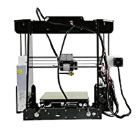 3D Printer, LESHP Self-Assembly Desktop SD Card 3D Printer High Speed Precision with LCD Works with PLA ABS Filaments for DIY by LESHP