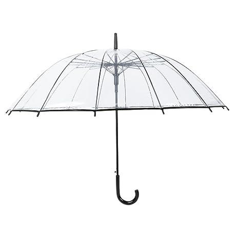 Transparente Cúpula Forma Paraguas para Viento y Pesado Lluvia
