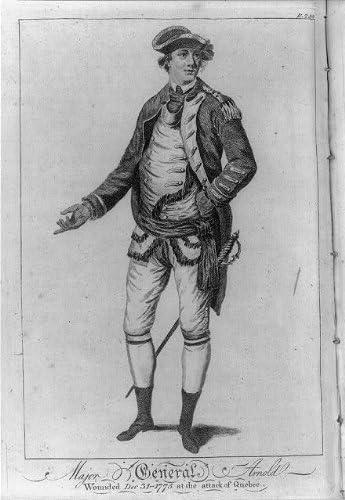 Amazon|Photo : 1780 Major Generalベネディクト・アーノルドV ( 1741 ...