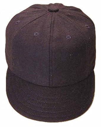 Ideal Cap Co. Navy Eight Panel Vintage Baseball Cap Cap Circa 1900 6 7  fa86389ab6e