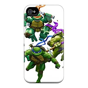 Awesome Design Tmnt Hard Case Cover For Iphone 4/4s