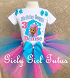 Bubble Guppies Molly Birthday Outfit Tutu Set