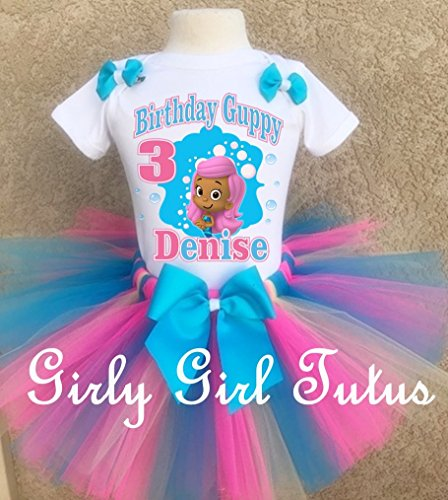 Bubble Guppies Molly Birthday Outfit Tutu Set by Girli Girl Tutus