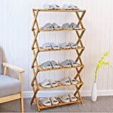 AIDELAI flower rack Simple shoe rack Multi - layer dust storage rack Home shoe cabinet Economic shoe rack Solid wood dormitory shoe rack Patio Garden Pergolas