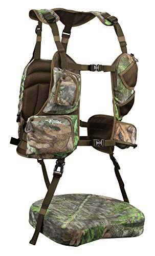 Knight & Hale KHT0066 Run N' Gun 200-Turkey Vest, Mossy Oak Obsession