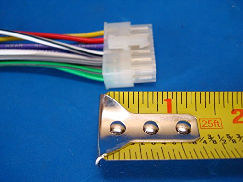 51yePmObLsL.01_SL500_ car audio 12 pin stereo wire harness radio power plug mail back Who Makes Dual Car Audio at webbmarketing.co