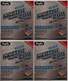 Nicotine Gum 2mg Sugar Free Original Generic for Nicorette 110 Pieces per Box Pack of 4 Total 440 Pieces