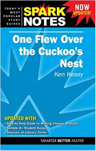 Book One Flew Over the Cuckoo's Nest (Sparknotes) by Ken Kesey (2008-06-01)