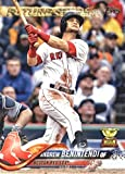 #4: 2018 Topps Baseball Series 2#556 Andrew Benintendi Boston Red Sox Future Star Official MLB Trading Card
