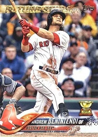 2018 Topps Series 2556 Andrew Benintendi Boston Red Sox Baseball Card Gotbaseballcards