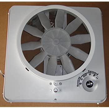 RV Roof Vent Vortex II Ugrade Kit Multi-Speed Fan
