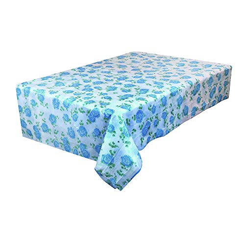 Yu2d  Waterproof Plastic Tablecovers Table Cloth Cover Party Catering Events Tableware(A)]()