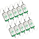 10x SAFT LS26500_TAB Size C 3.6V 7700mAh Primary Lithium Cell for Xeno and more