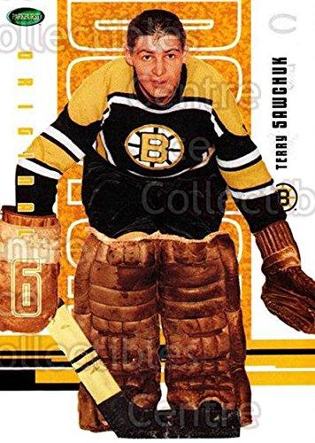 - (CI) Terry Sawchuk Hockey Card 2003-04 Parkhurst Original Six Boston Bruins (base) 54 Terry Sawchuk