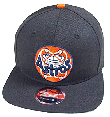 New Era Houston Astros Black MLB Cooperstown Snapback Cap 9fifty Limited Edition