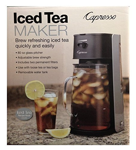 Cheap Capresso Ice Tea Maker #624 Black & Silver