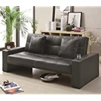 Coaster Sofa Bed (Box 1)-Black