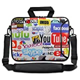 InternetLogo 9.7″ 10″ 10.2″ inch Laptop Netbook Tablet Shoulder Case Carrying Sleeve bag For Apple iPad/Asus EeePC/Acer Aspire one/Dell inspiron mini/Samsung N145/Lenovo S205 S10/HP Touchpad Mini 210
